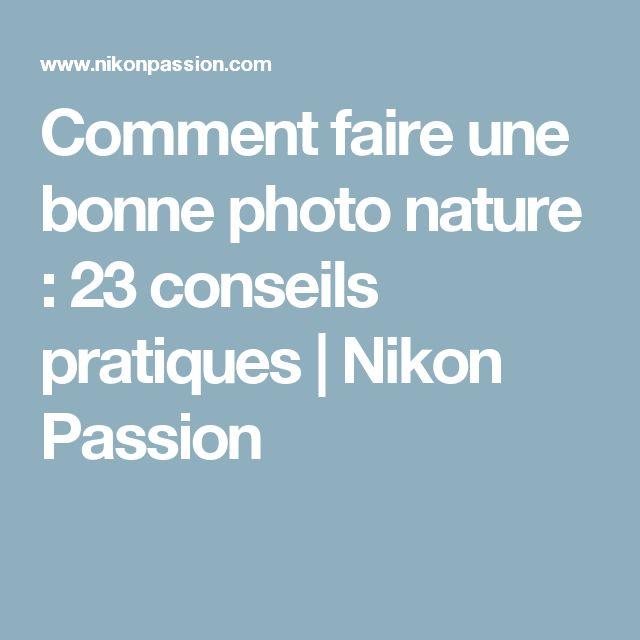 Comment faire une bonne photo nature : 23 conseils pratiques | Nikon Passion