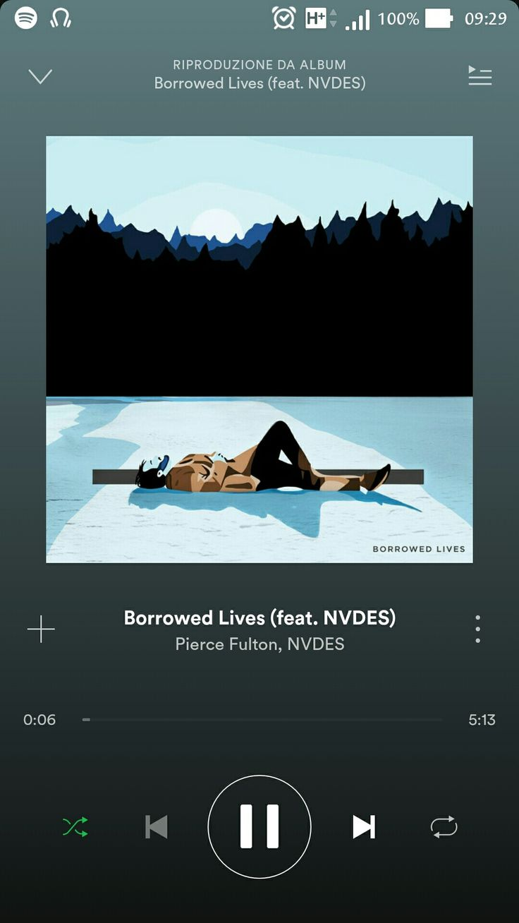 """Pierce Fulton, NVDES - Borrowed Lives -   """"... Don't go rocking the boat if the wind's all right. I'm happiest to walk, don't wanna race inside, just go with the waves and let it drain to the sea. All alone in the blue, I know it won't change me..."""""""