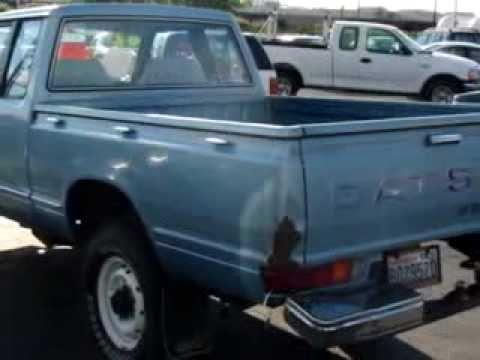 ▶ SOLD - 1982 Datsun Pickup DLX Budget Auto Sales III Auburn, - YouTube