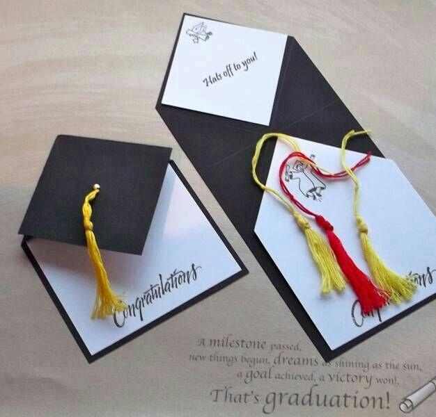Graduation. More