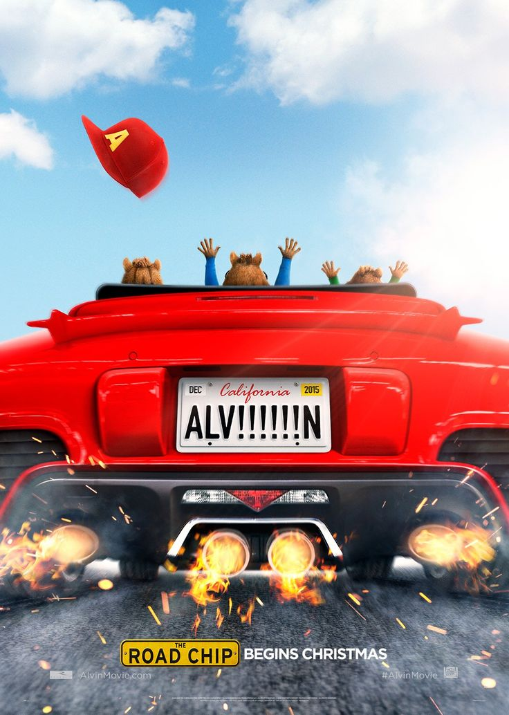 The fourth installment in the Alvin and the Chipmunks movie franchise is officially titled Alvin and the Chipmunks Road chip
