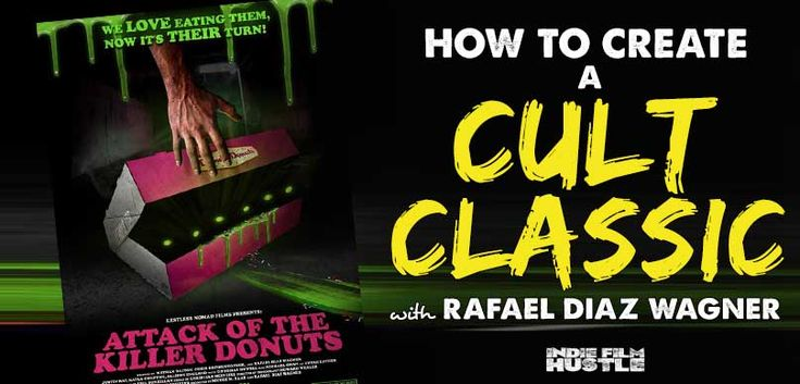 "This week we have Rafael Diaz Wagner, co-writer, and producer of the new Cult Classic ""Attack of the Killer Donuts."" Yes, that is really the name..."