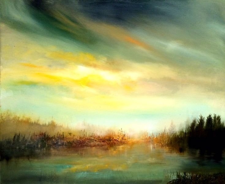 ARTFINDER: Peaceful Mist by Kimberley  Harris