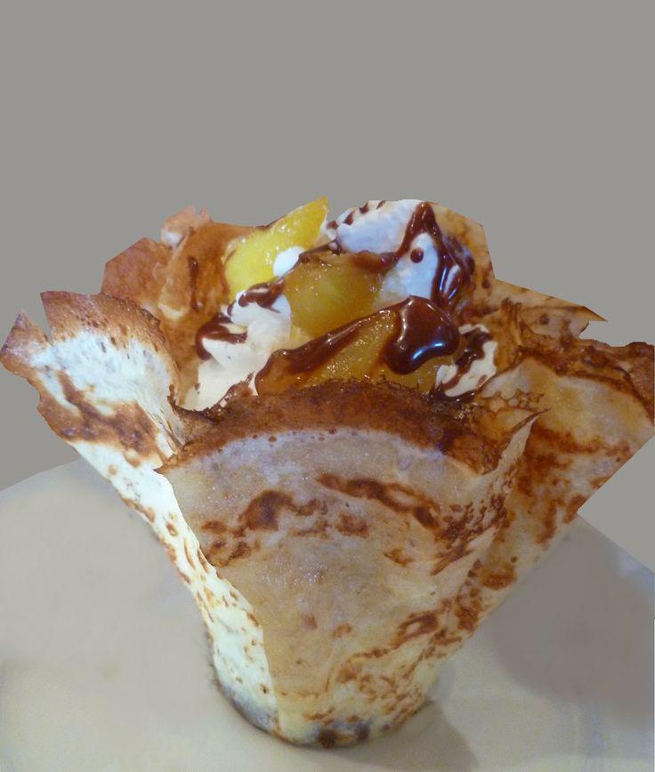Se régaler avec thermomix : Draperie chocolat - ananas