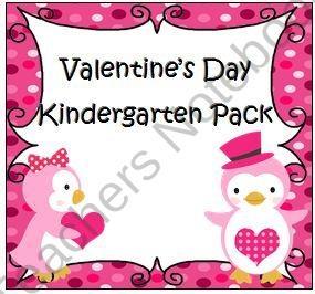 ...   Valentines Day, Kids Crafts and Kindergarten Math Worksheets