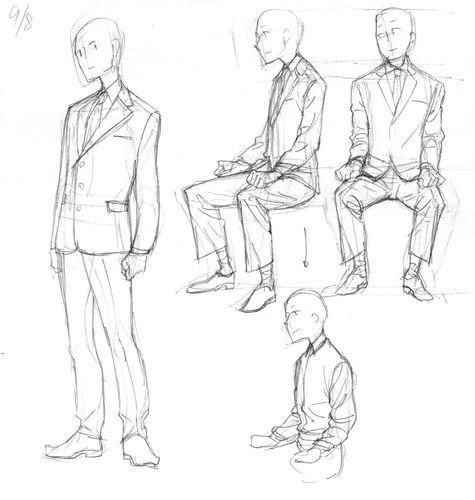 スーツ① 皺|Memo