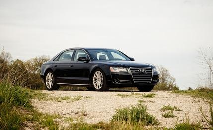 2012 Audi A8L 4.2 FSI Quattro I really like the new lines on the A8