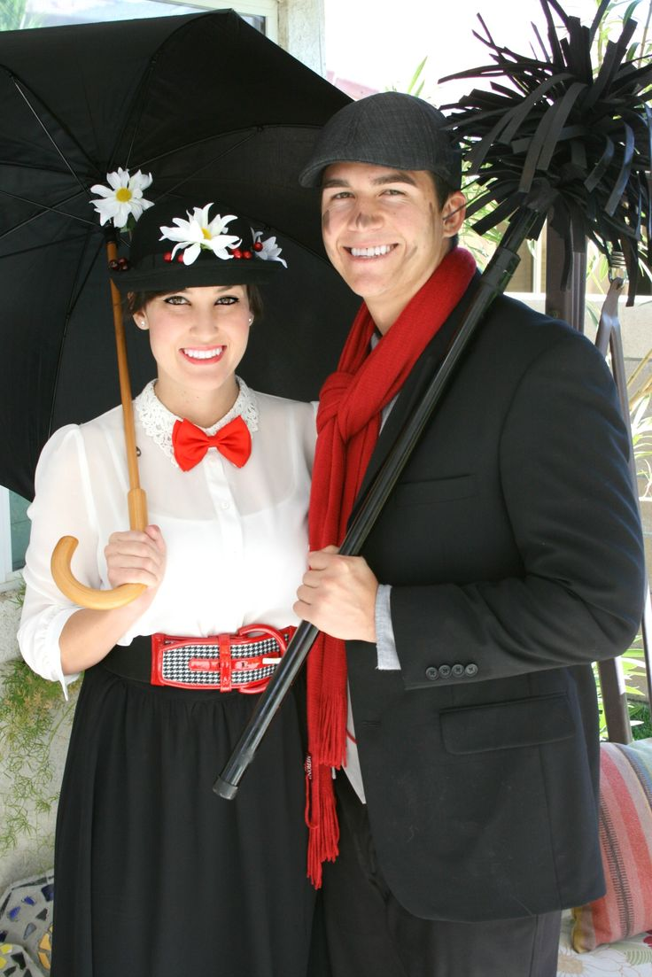 Mary Poppins and Bert homemade costumes | Halloween ...