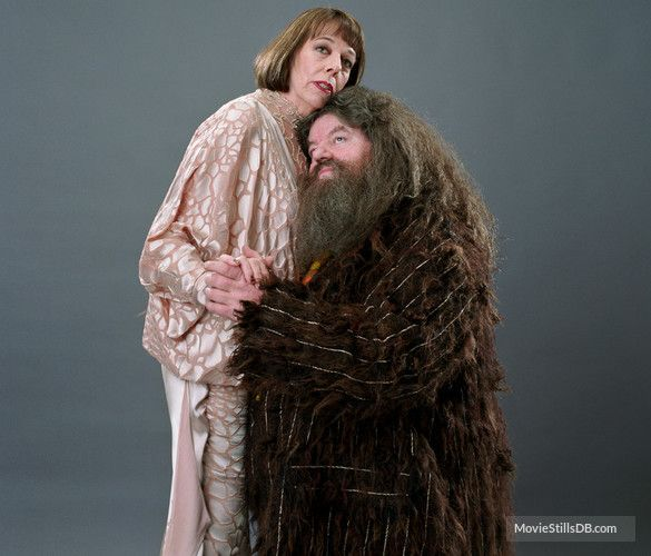 Harry Potter And The Goblet Of Fire Promo Shot Of Robbie Coltrane Frances De La Tour