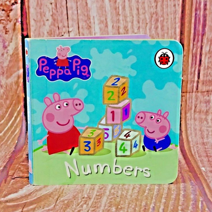 Numbers Peppa Pig Board book Oink Oink Have Fun Counting To Ten ladybird Books