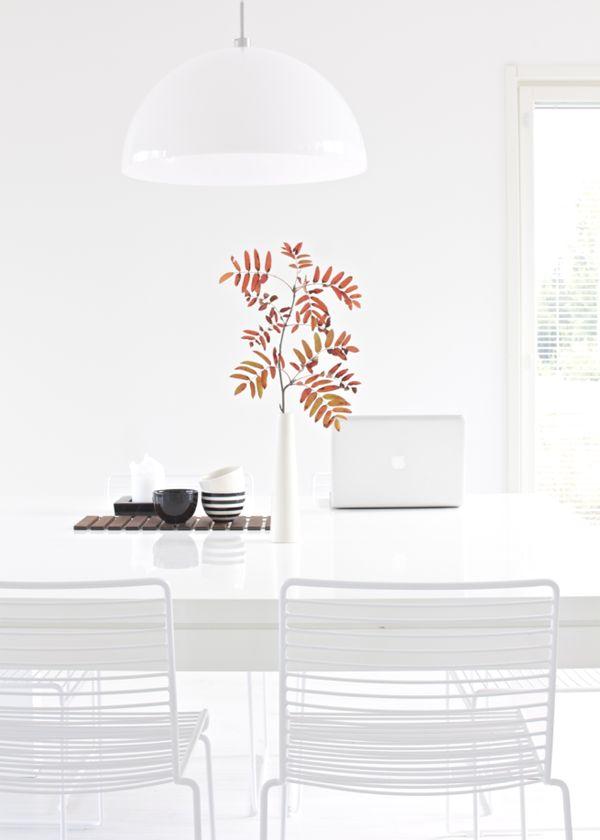 Hviit // For deg som elsker interiør: Hvite Hay Dinning
