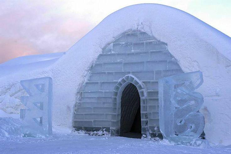 Snow Village in Kittilä, Finland - 10 Most Amazing Ice Hotels