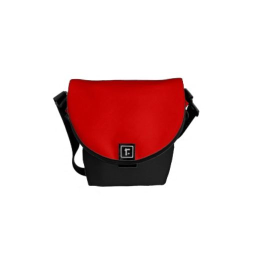 Red Courier Bag