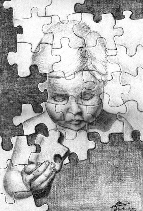 Puzzle - drawing https://www.facebook.com/StefanMarcuArt
