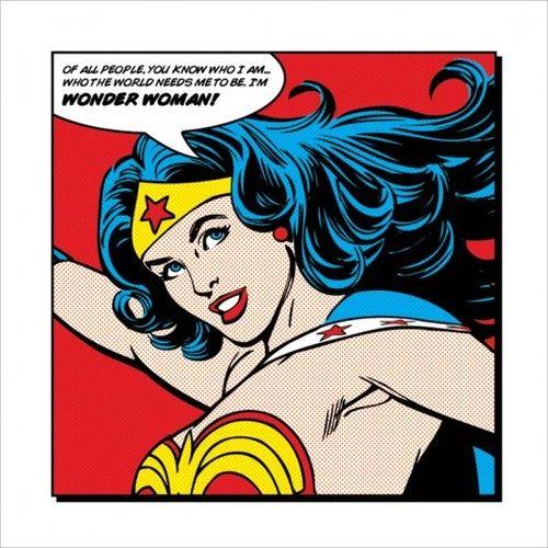 Superhero Art- Wonderwoman