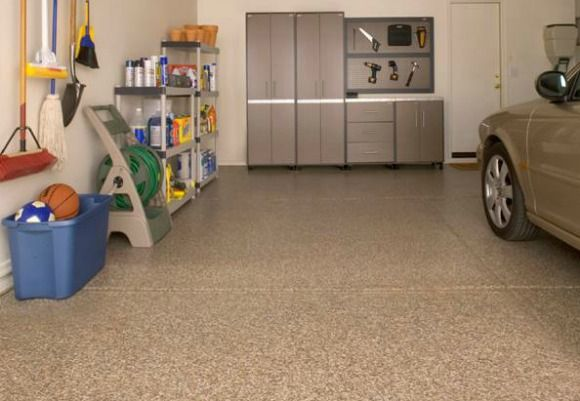 17 best images about workshop garage on pinterest for Different flooring options