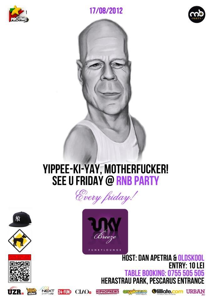 Friday 17/08 @ Funky Breeze Herastrau w DJ Oldskull