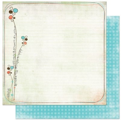 "'Scribbles' Double-Sided Heavy-Weight Paper 12""X12"" Price: £0.79 #papercrafts #cardmaking #scrapbooking"