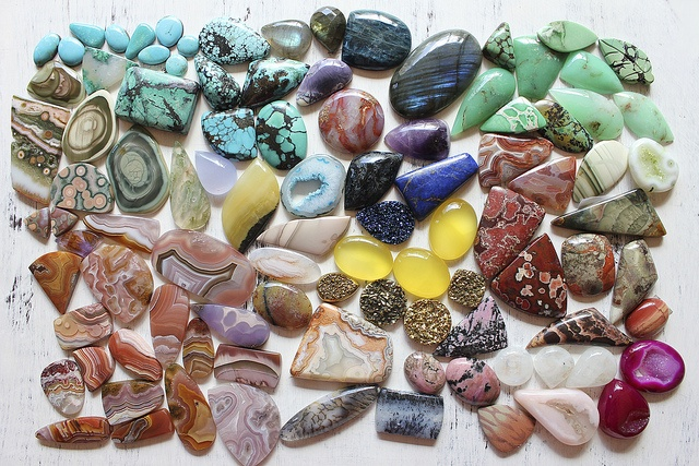 Shiny stones.  Love the colors