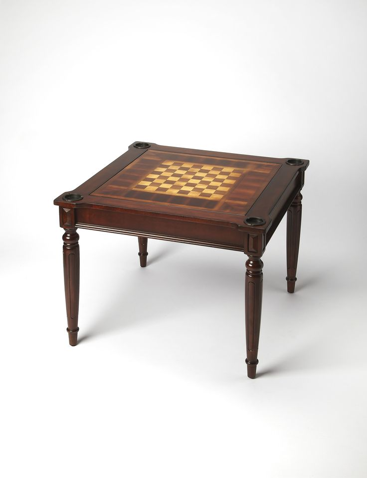 Vincent Plantation Cherry Multi Game Card Table By Butler Specialty Company  0837024