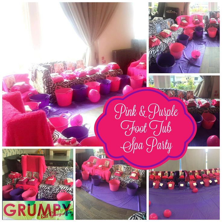 A Grumpybutgorgeous Foot Bucket Spa Party For Girls Of All Ages Pedicures In Places