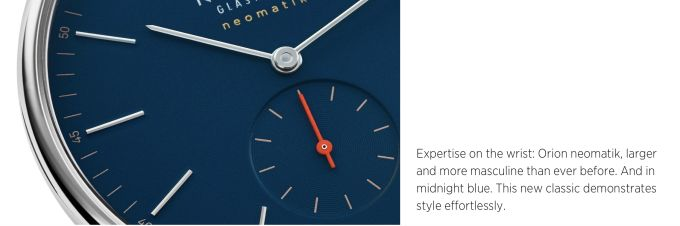 Watch brand Nomos thinks only men are at work