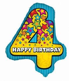 Wielka czwórka! Happy 4th Birthday!