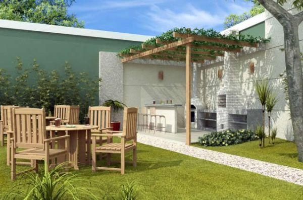Explore alguns modelos de Decoração de Quintal grande com Churrasqueira e inspire-se para construir ou reformar o quintal da sua casa.