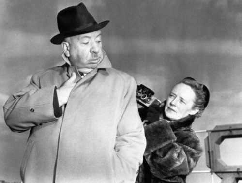 Alfred Hitchcock & Alma Reville