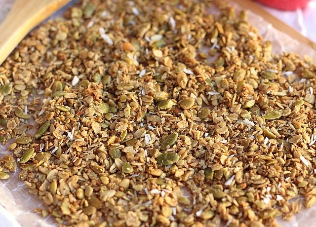 free cinnamon coconut granola oatmeal muesli granola healthy granola ...