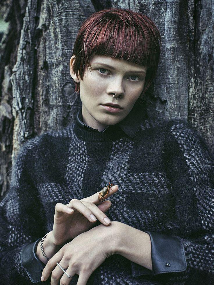 Irina Kravchenko by Sebastian Kim for Vogue Ukraine October 2013