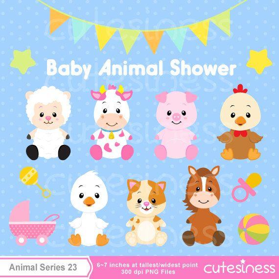 baby animal clipart baby farm animals clipart baby