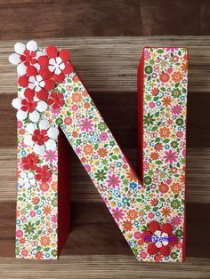 17 best images about letras decoradas on pinterest for Letras de corcho decoradas