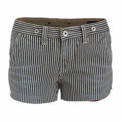 """Γυναικείο Τζιν Σορτς """"Denim Stripe"""" School Of Women. sorts, σορτς, σορτσακια, shorts, γυναικεια ρουχα, μοδα, σταμπες, online rouxa, prosfores"""