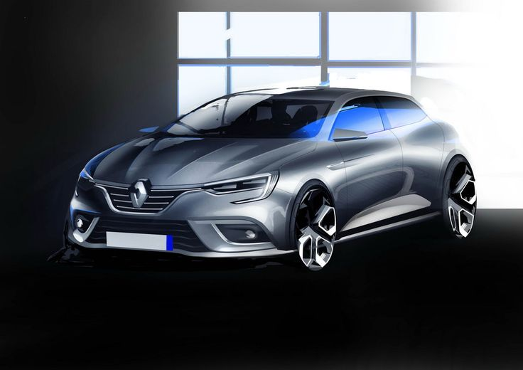 Nowe Renault Mégane na dużym zestawie świeżych zdjęć