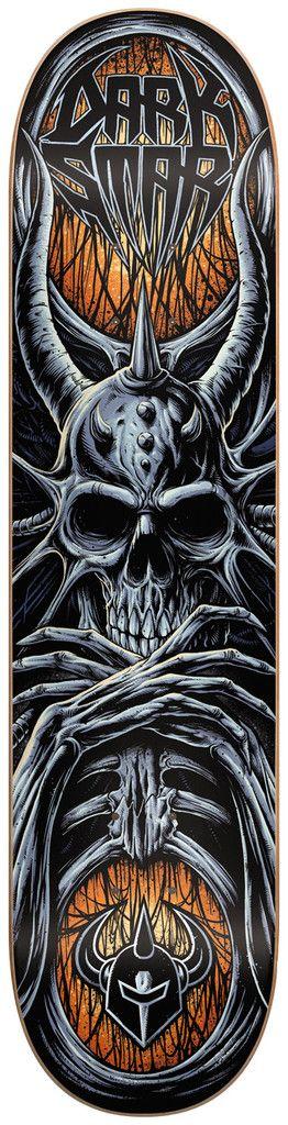 Darkstar Roots SL - Orange - 8.25 - Skateboard Deck