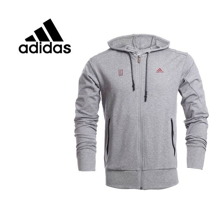 100% Original New 2015 ᗕ Adidas men's jacket AB4346 Hoodie Sportswear ⑧  free shipping100%