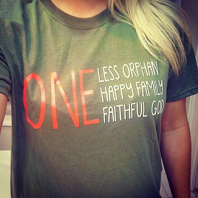 Adoption Tshirt! $20