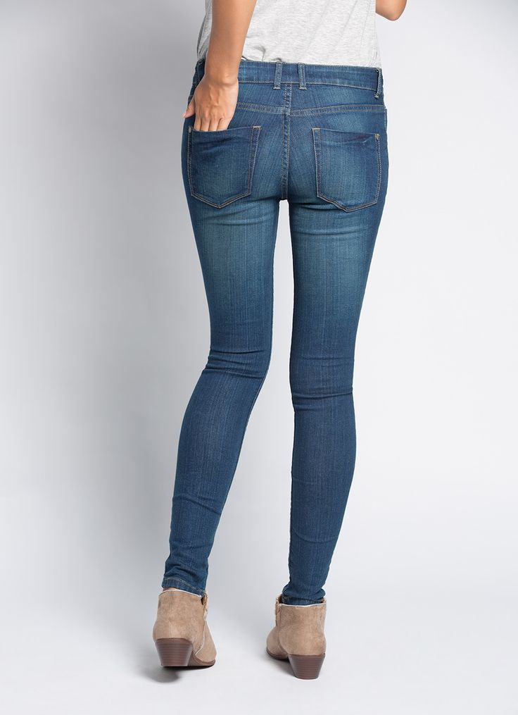 The Skinny Mid Rise, your everyday denim.
