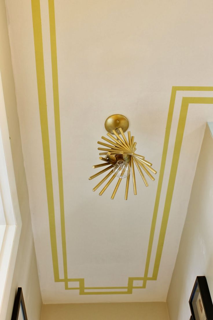 Border Painted On The Ceiling Love This Idea For A