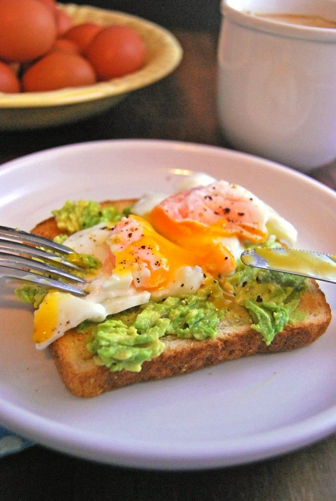 Poached Egg on toast with mashed avocado | from Foodie Mum's Kitchen
