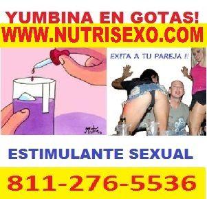 VENTA DE YUMBINA AFRODISIACO EN GOTAS EXITA A TU PAREJA EN MINUTOS , VISITA NUTRISEXO.COM