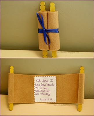 torah craft. Too cute!