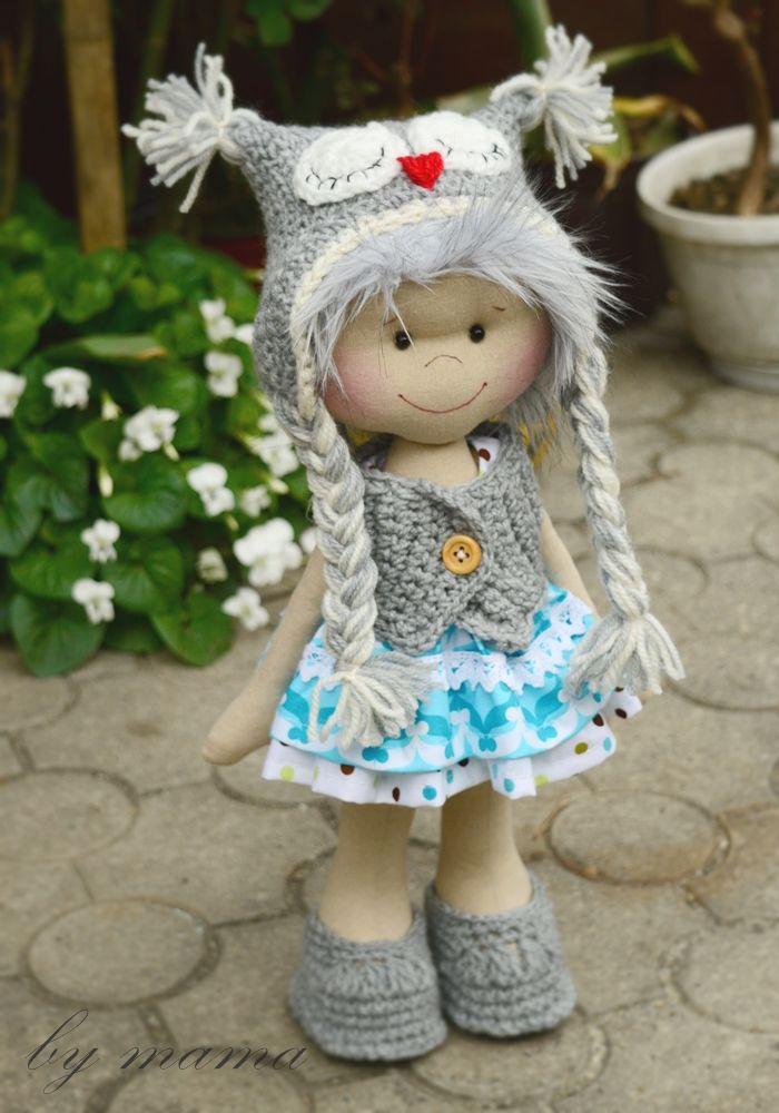 #doll #owl #pracowniabymama #bymama