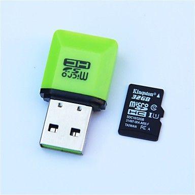 Cartão de Memória Micro SD Kingston / Com leitor de cartão USB (32GB / Class10) http://www.miniinthebox.com/pt/cartao-de-memoria-micro-sd-kingston-tf-w-leitor-de-cartao-usb-32gb-class10_p1677302.html?utm_medium=personal_affiliate&litb_from=personal_affiliate&aff_id=12539&utm_campaign=12539