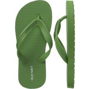 Color Verde Olivo - Olive Green!!! Flip Flops