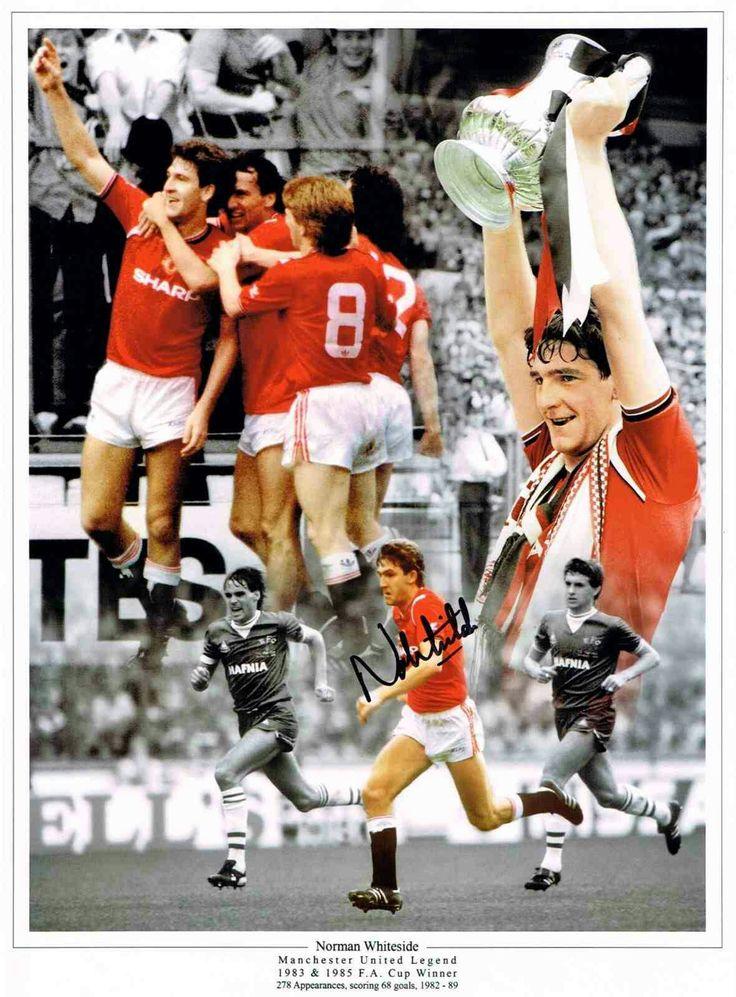 Norman Whiteside of Man Utd wallpaper.