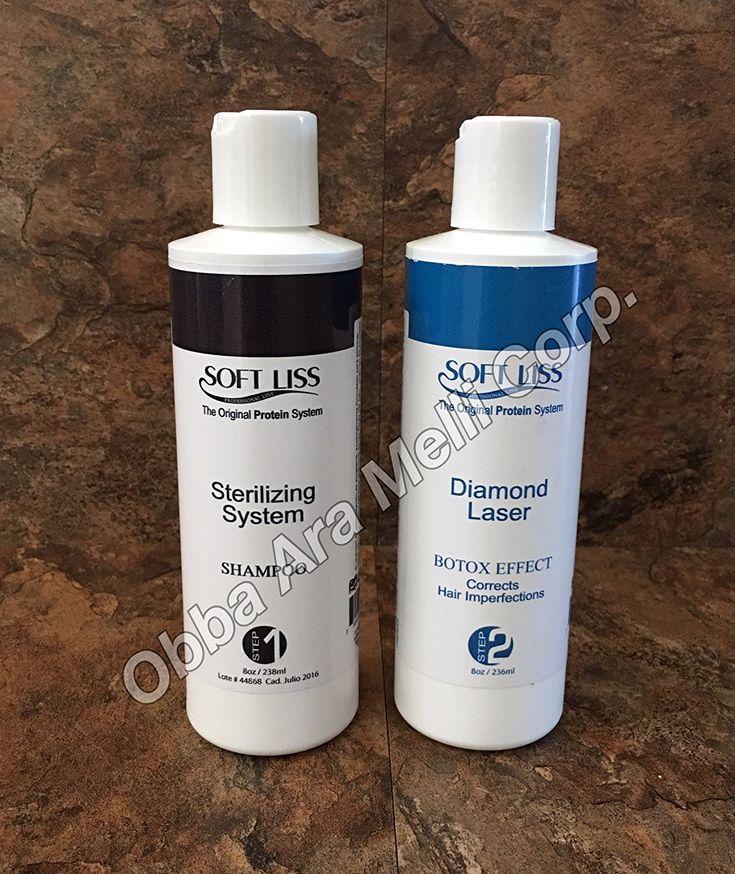 Keratin Brazilian Treatment kit 8oz Diamond Laser Soft Liss 'Keratina de Diamante' Hair Treatment Formaldehyde Free *** Want to know more, click on the image.