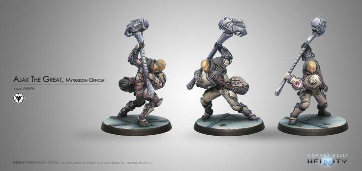 Ajax The Great, Myrmidon Officer