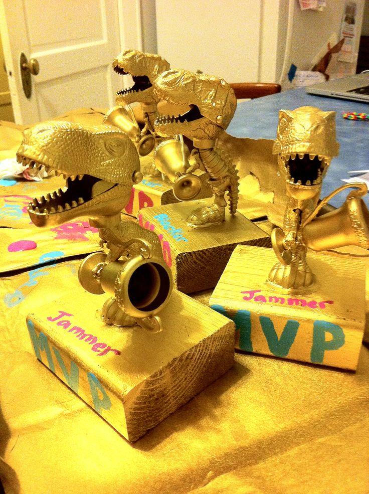 Roller Derby MVP trophies!